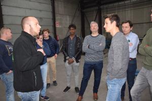 GVB Staden en VTI Izegem op bezoek bij Constructie Bruynooghe